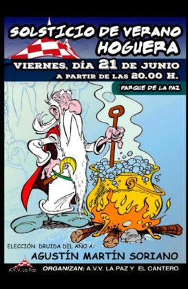Solsticio de verano en La Paz: hoguera y elección del Druida del año 2019