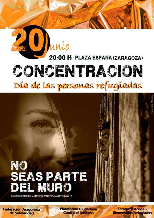 Día de las Personas Refugiadas 2019: Concentración