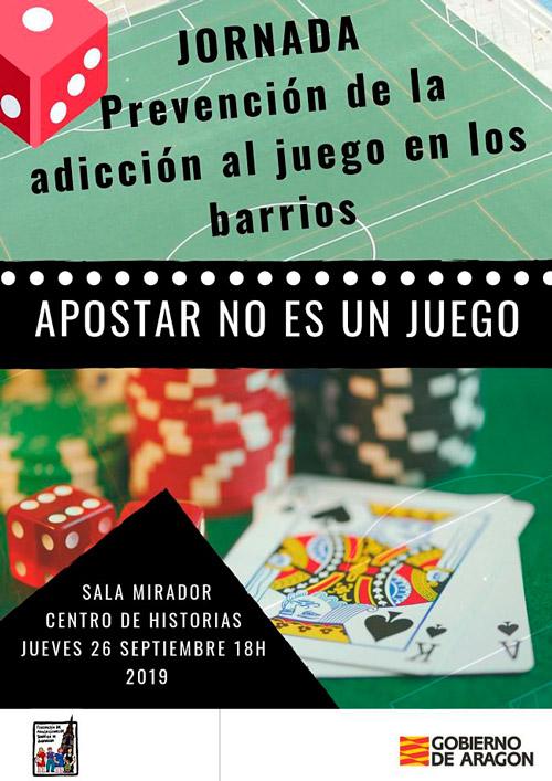 La FABZ organiza una Jornada sobre prevención de la adicción al juego