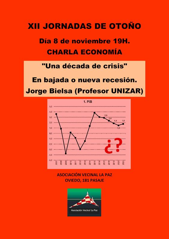 XII Jornadas de Otoño: Una década de crisis económica