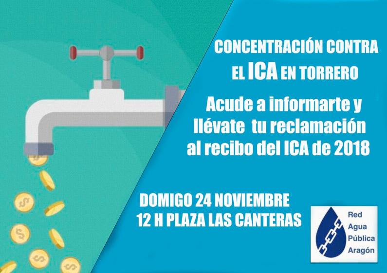 24 de noviembre: Concentración contra el ICA en Torrero