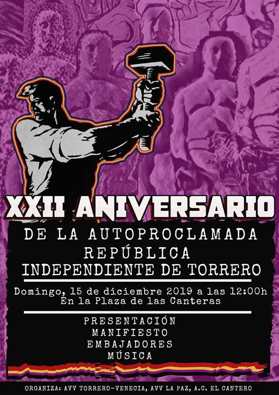 XXII Aniversario de la República Independiente de Torrero