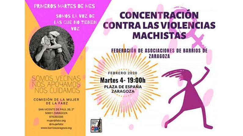 Concentración contra la Violencia Machista 05-02-2017