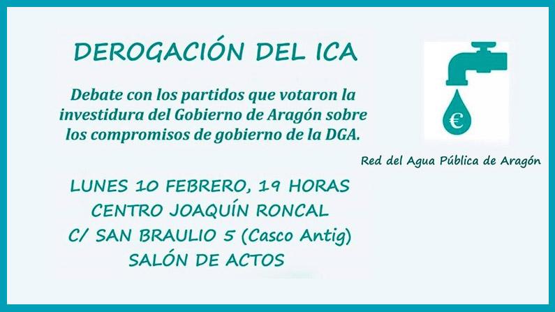 Debate sobre la derogación del ICA 10-02-2020