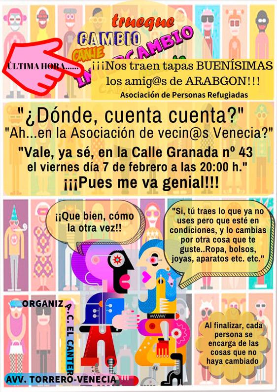 Feria de Trueque e Intercambio de Torrero 2020