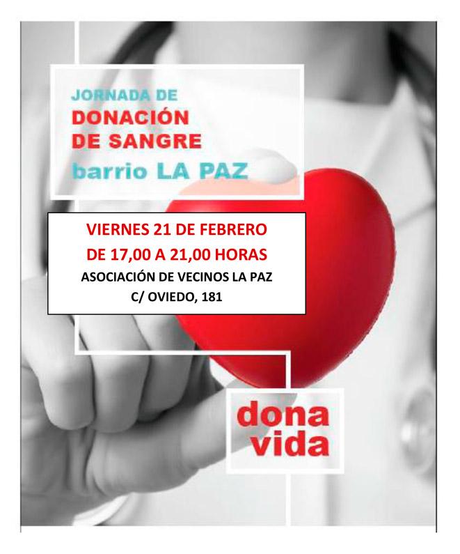 Jornada de Donación de Sangre 21-02-2020