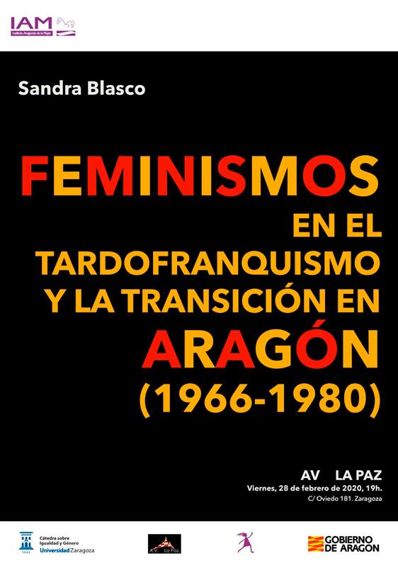 Cartel Charla sobre Feminismos en la Transición 28-02-2020