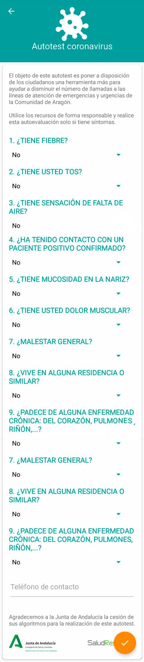 APP Salud Informa - Coronavirus