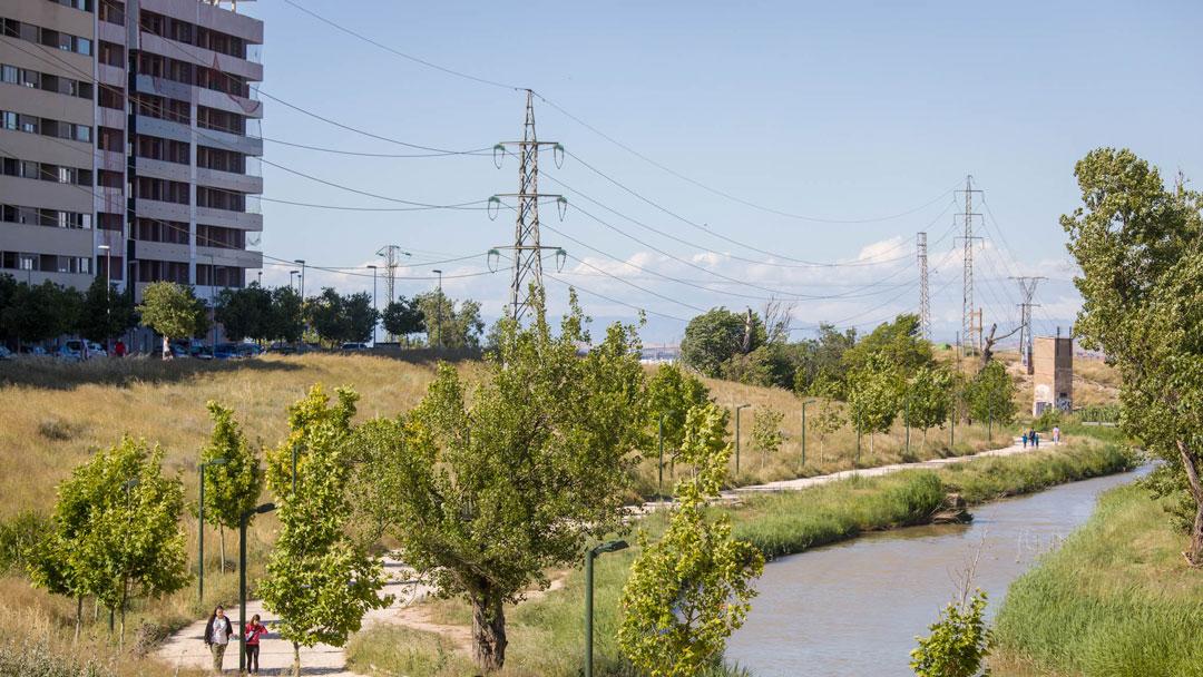 Soterramiento Tendido eléctrico Parque Venecia