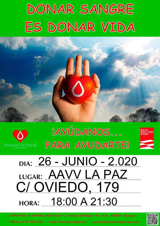 Donación de Sangre 26-06-2020