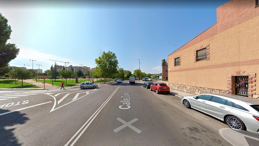 Cruce calle Alhama - Zafiro