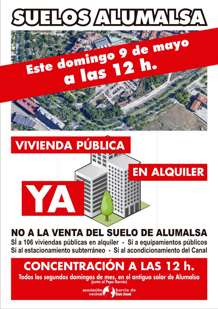 Concentración Alumalsa - Mayo 2021