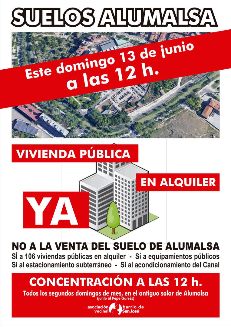 Concentración Alumalsa 12 junio 2021