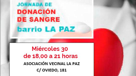 Jornada de Donación de Sangre 30 junio 2021