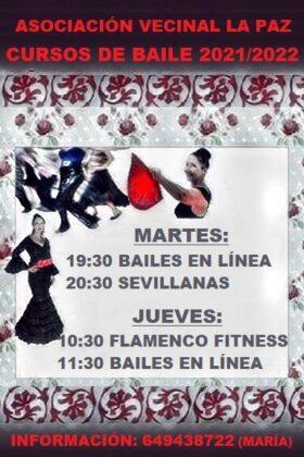 Cursos de baile La Paz 2021-2022